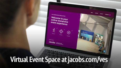 Jacobs Strengthens Public Engagement Solutions with New Virtual Event Space