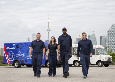 Purolator is creating more than 1,100 new jobs as the rise in home delivery creates opportunities and challenges. (CNW Group/Purolator Inc.)