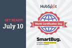 SmartBug Media® Partners with HubSpot to Host World Certification Day on July 10, 2020