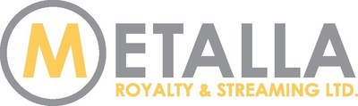 Metalla Royalty Logo (CNW Group/Metalla Royalty and Streaming Ltd.)