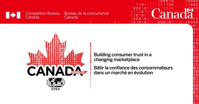Competition Bureau assuming the presidency of the International Consumer Protection and Enforcement Network for 2020-2021 (CNW Group/Competition Bureau)