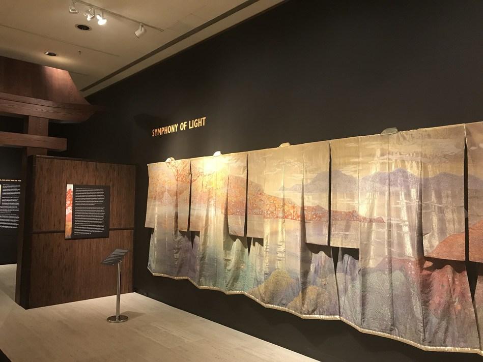 """Symphony of Light"" collection by Itchiku Kubota (PRNewsfoto/International Chodiev Foundation)"