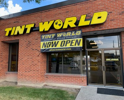 Tint World® National Automotive Styling Centerstm continues its growth in Canada with the opening of the leading auto accessory and window tinting franchise's third Toronto-area location.