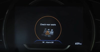 Heading into summer, Hyundai Motor America wants to remind everyone to check the rear seats when exiting a vehicle.
