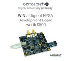 Digilent Development Board Giveaway Worth over $500 to celebrate OEMsecrets' 10-Year Anniversary