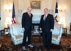Secretary of State Mike Pompeo Receives Friends of Zion Award