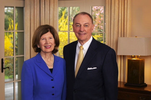 Bryant University President Ronald K. Machtley will step down from office today, after nearly a quarter of a century at the helm of the school he helped transform from a regional business college to a top ranked national university. He is joined in retirement by his wife Kati C. Machtley '17H, founder and Director of the Bryant Women's Summit, an event that has empowered, inspired, and helped advance women for 23 years.