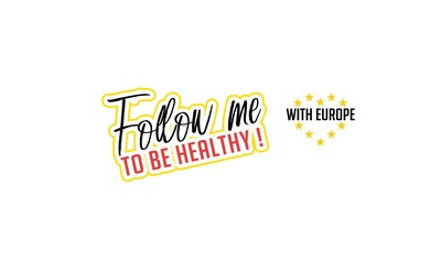 Follow me to be Healthy with Europe campaign Logo (PRNewsfoto/Follow me to be Healthy)