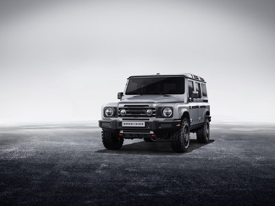 INEOS Automotive today reveals the exterior design of the Grenadier, its forthcoming, no-nonsense 4x4 vehicle for the world. (PRNewsfoto/INEOS AUTOMOTIVE)