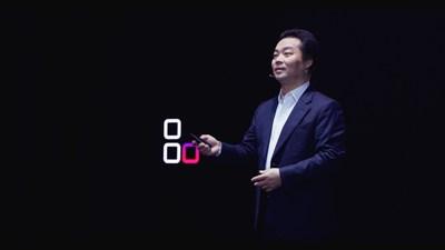 """O presidente para Serviço de Nuvem ao Consumidor do Huawei Consumer Business Group, Zhang Ping'an, fez uma palestra institulada """"HMS Innovate For All"""" (""""Inovar para todos do HMS"""") (PRNewsfoto/Huawei Consumer Business Group)"""