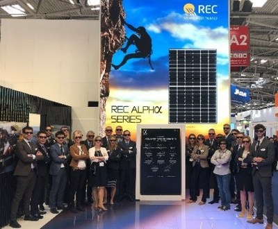 Simply the best: REC Group wins prestigious Intersolar Award 2020 for its powerful Alpha solar panels