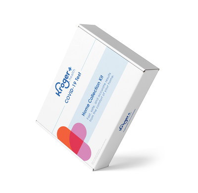 Kroger Health launches COVID-19 Test Home Collection Kit,  combining the safety and convenience of at-home sample collection with the expert guidance of a telehealth consultation.