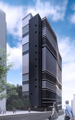 Digital Realty's new HKG11 Data Centre - the company's second facility in Hong Kong