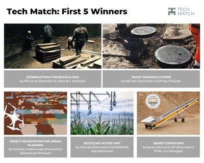 Tech Match Winners First Open Call