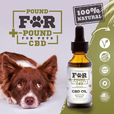 NEW Pound for Pound Pet Friendly CBD! Perfect for your furry loved ones on Long car rides, Flying on an airplane, During celebrations & fireworks, and just to help ease their mind when needed! Available now at www.pforpcbd.comm
