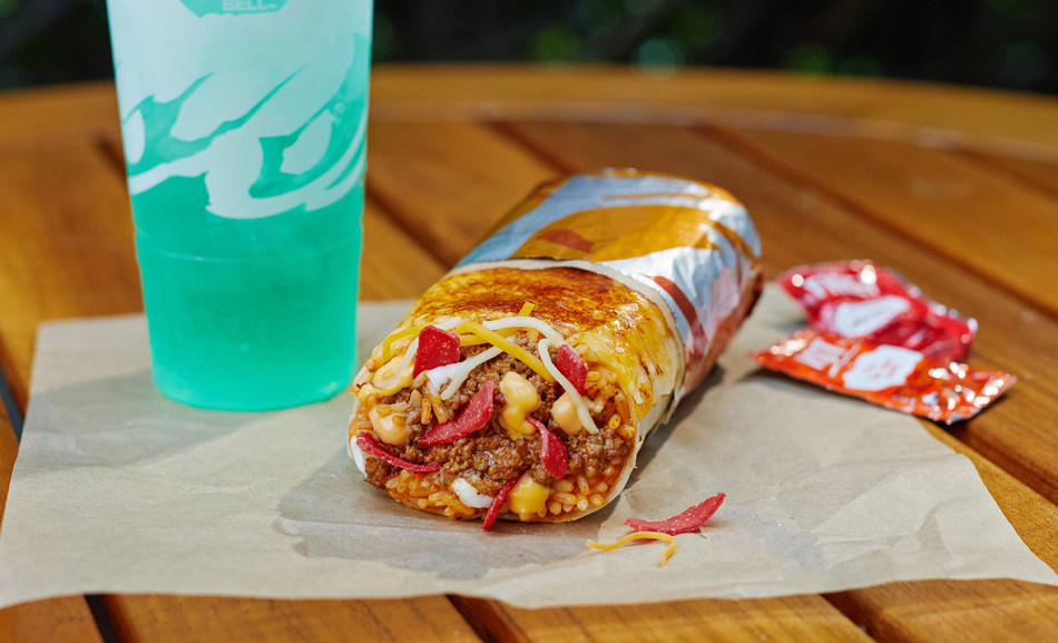 With cheese on the inside and the outside, the new Grilled Cheese Burrito is Taco Bell's cheesiest new menu item of the year so far. This indulgent burrito draws inspiration from the classic grilled cheese sandwich and is available nationwide today.