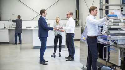 Coveris' new technical focused development centre will provide visitors with a dedicated space of over 400m² to support trials, workshops, and innovation delivery.