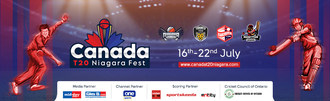 Cricket is returning to your screens! Canada T20 Niagara Fest, from 16-22 July