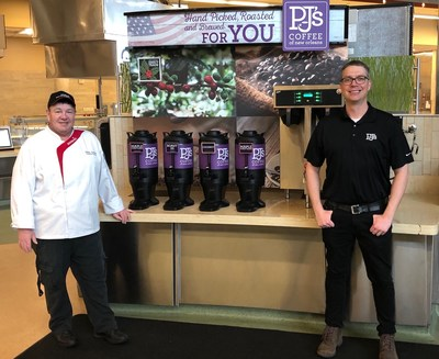 PJ's Coffee of New Orleans has launched a partnership with Sodexo, the world's leading provider of food services, to feature its coffee in select United States Marine Corps bases across the country, spanning from California to South Carolina.