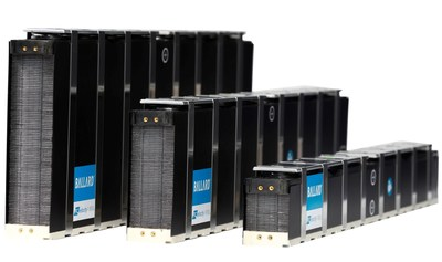 Ballard FCvelocity®-9SSL fuel cell stacks (CNW Group/Ballard Power Systems Inc.)