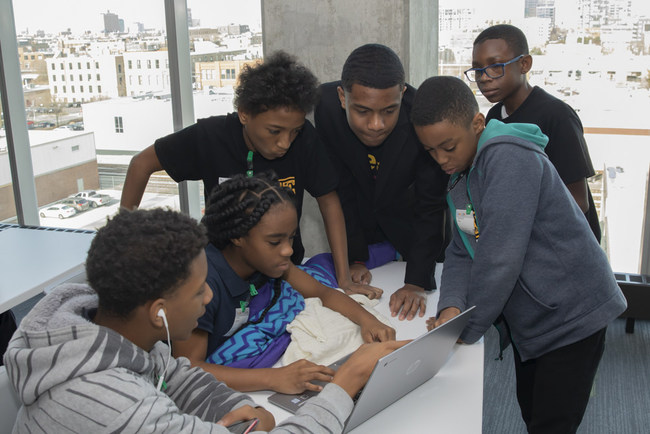 Hour of Code at Google Chicago