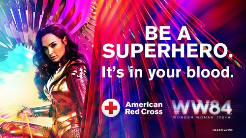 This July, the American Red Cross and WONDER WOMAN 1984 are joining forces to save the day for patients in need of lifesaving blood transfusions
