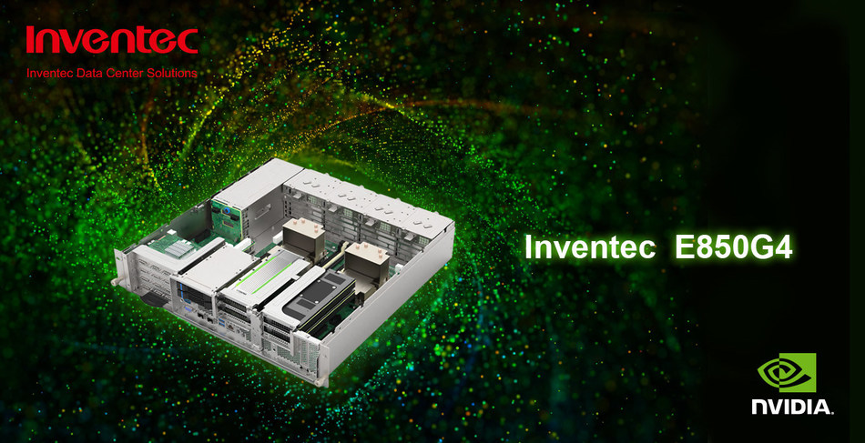Inventec Announces its NGC-Ready Edge Server Optimized for AI Software-E850G4