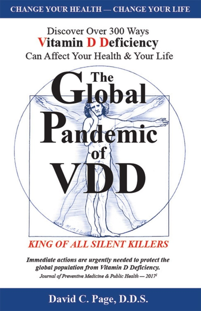 Global Pandemic of VDD: King of ALL Silent Killers, Front Cover