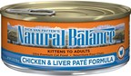 The J. M. Smucker Company Issues Voluntary Recall of One Lot of Natural Balance® Ultra Premium Chicken & Liver Paté Formula Canned Cat Food