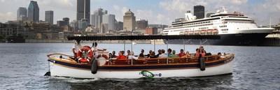 Conçu pour accueillir jusqu'à 28 ou 40 passagers, Le Petit Navire et Le Petit Navire II offrent des balades sur le Fleuve Saint-Laurent et le Canal Lachine. (Groupe CNW/Le Petit Navire)
