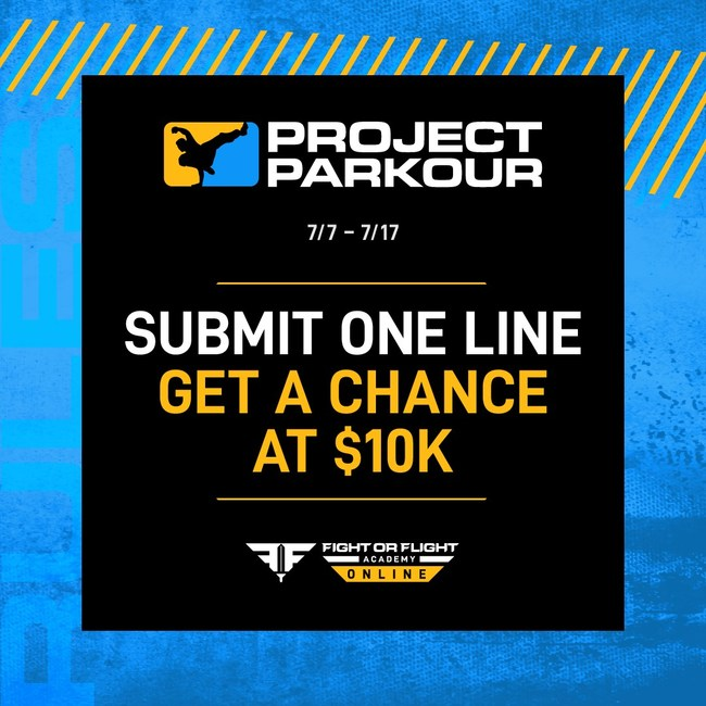 Submit One Line - Get a Chance at $10k