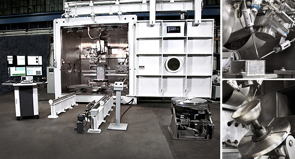 Sciaky's Electron Beam Additive Manufacturing (EBAM®) technology.