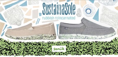 Sanuk SustainaSole // Rubbish Reincarnated