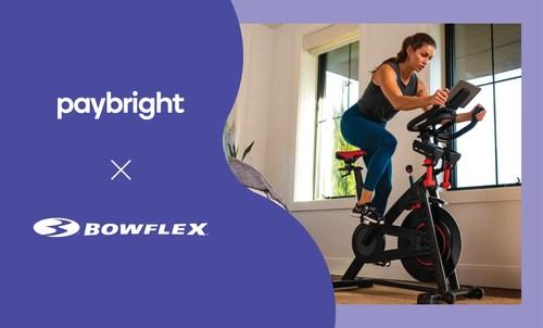 PayBright   Bowflex (CNW Group/PayBright)