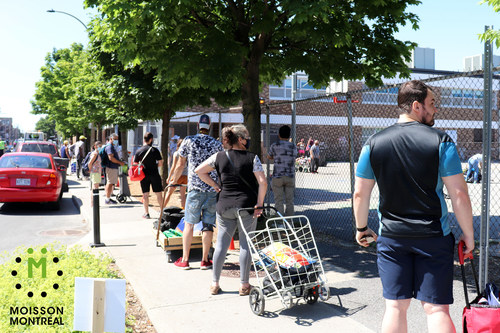 Moisson Montréal distributed $29 million worth of food since the beginning of the crisis (CNW Group/MOISSON MONTREAL)