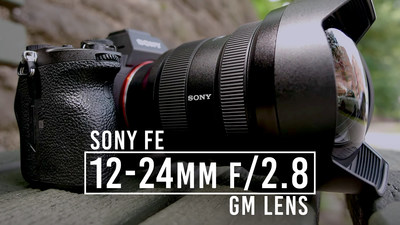 Sony FE 12-24mm f/2.8 G Master Lens
