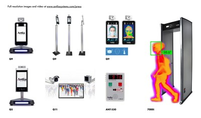 Antlia Systems Advanced Non-Contact Thermal Detection Products