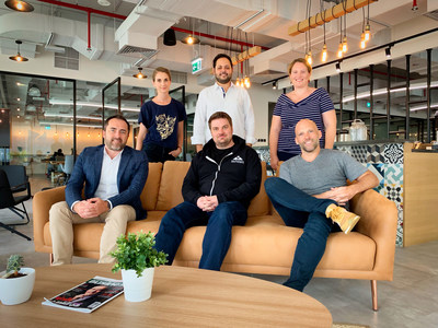 Clara founding team - includes Patrick Rogers, Lee McMahon, Hannah McKinlay, Ahmed Arif, Arthur Guest and Foundra Managing Director Kathryn Burke