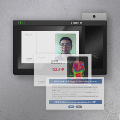 Logile releases highly accurate, touch-free Health & Temperature Scanner