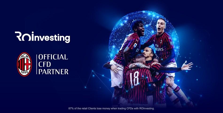 ROInvesting cattura i cuori rossi e neri dei tifosi dell'AC Milan con una  pubblicità motivante