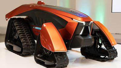 Kubota autonomous electric concept tractor. Source: Kubota