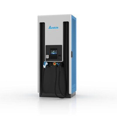 A 200kW Ultra Fast Electric Vehicle (EV) Charger (PRNewsfoto/Delta Electronics BV)