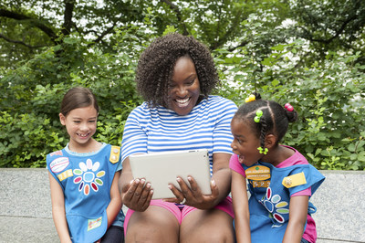 """Girl Scouts is launching a free """"Make New Friends"""" virtual event series to ensure that all girls are prepared to start kindergarten with confidence. Sign up for a local event series at www.girlscouts.org/ready."""