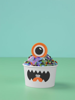 With a single inquisitive white chocolate eyeball, the Monster Creature Creation™ is always looking for some fun – and a reason to celebrate with ice cream. For more information or to find a store near you, visit www.BaskinRobbins.com.
