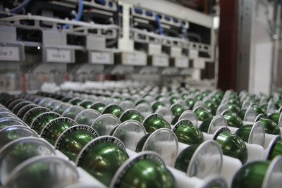 Nespresso Vertuo coffee capsules (PRNewsfoto/Nespresso)
