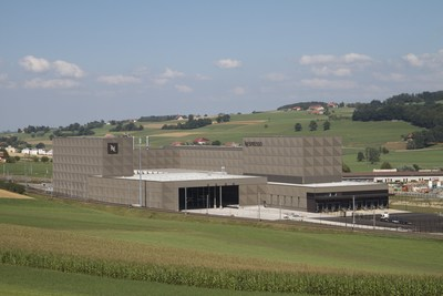 Nespresso Romont production center in Switzerland (PRNewsfoto/Nespresso)
