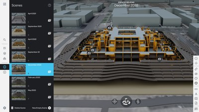 SmartWorldPro2 screenshot - BIM Import and Smart Layers