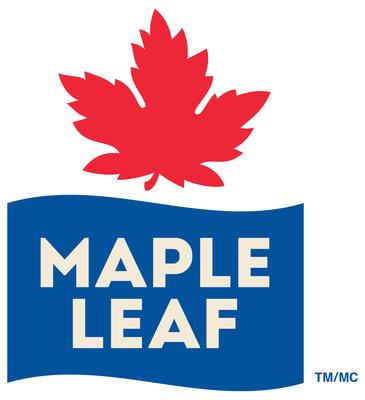 Logo Maple Leaf Foods Inc. (Groupe CNW/Les Aliments Maple Leaf Inc.)