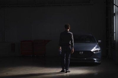 Mazda3 Sport GT 2021 équipée d'un moteur turbo, avec accessoires optionnels (Groupe CNW/Mazda Canada Inc.)