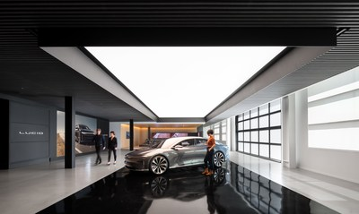Lucid Motors will open 20 retail locations – known as Lucid Studios – and Service Centers throughout North America by the end of 2021, with the first located at their headquarters in Silicon Valley.